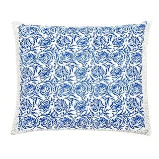 Trendsage Double-sided Vine Blue Decorative Accent Pillow