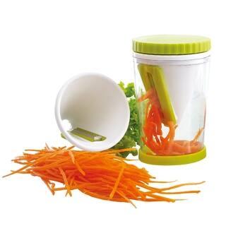 Meglio Vegetable Spiral Slicer Julienne Spiralizer|https://ak1.ostkcdn.com/images/products/9352566/P16545435.jpg?impolicy=medium