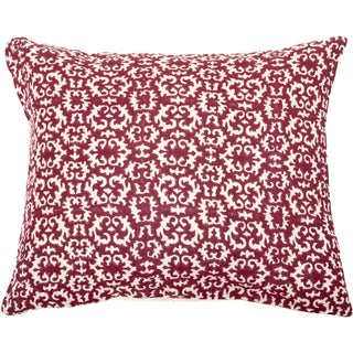 Trendsage Acient Fuschia Decorative Accent Pillow