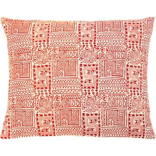 Handmade Temple Multi Decorative Accent Pillow