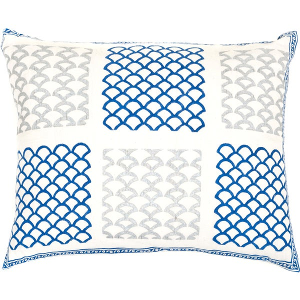 Handmade Multi Arch Decorative Accent Pillow