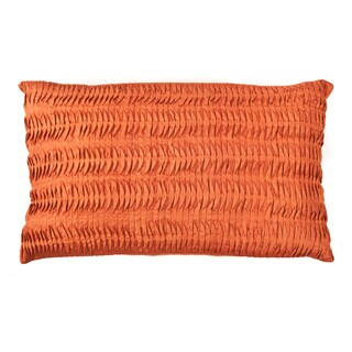 Trendsage Shell Orange Decorative Accent Pillow