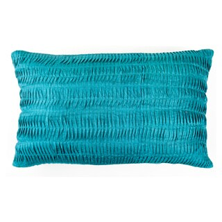 Trendsage Shell Teal Decorative Accent Pillow