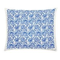 Trendsage Vine Blue Decorative Accent Pillow