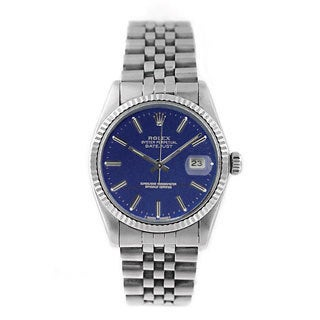 Pre-owned Rolex Men's Datejust 16014 Stainless Steel Watch|https://ak1.ostkcdn.com/images/products/9352638/P16545510.jpg?_ostk_perf_=percv&impolicy=medium