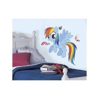 Rainbow Dash Peel and Stick Giant Wall Decals