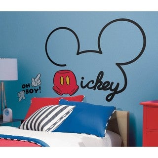 Disney All About Mickey Peel and Stick Giant Wall Decals