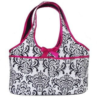 AnnLoren Damask Print Doll Carrier Tote Backpack for 18-inch Dolls