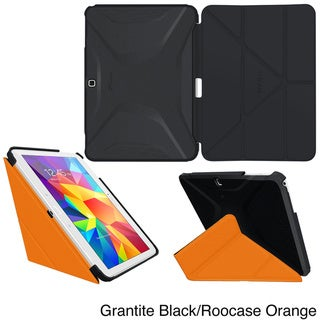 rooCASE Origami 3D Slim Shell Folio Case Smart Cover for Samsung Galaxy Tab 4 10.1 SM-T530