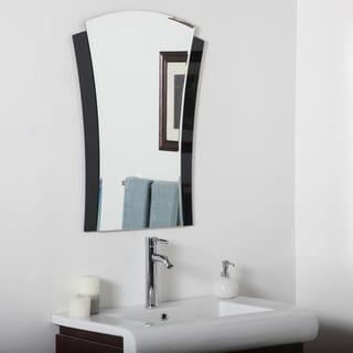 Deco Bathroom Mirror - Silver - Silver/31.5Hx23.6Wx.5D