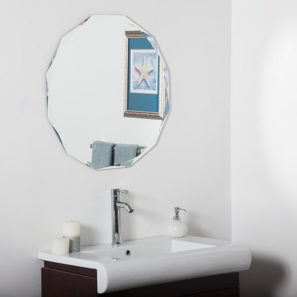 Frameless Diamond Wall Mirror Free Shipping Today