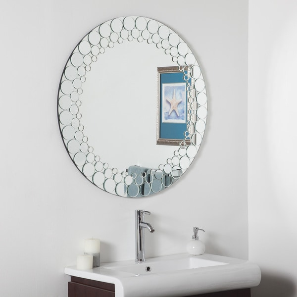 circles bathroom mirror free shipping today