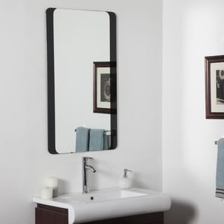 Large Bathroom Mirror - Silver - 39.5Wx23.5x.5D