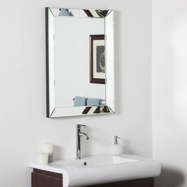 pictures of bathroom mirrors mirror framed mirror 16545784 overstock shopping 19973
