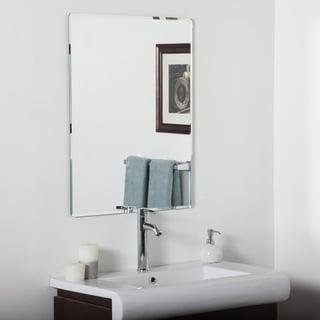 Vera Frameless Bathroom Mirror
