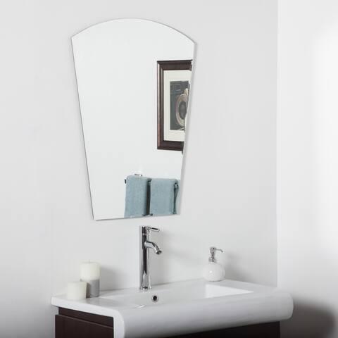 Paris Modern Bathroom Mirror - Silver - 31.5Hx23.6Wx.5D