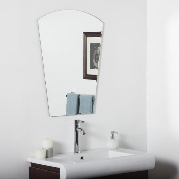 Paris Modern Bathroom Mirror - Clear