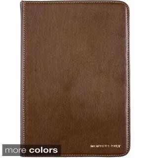 Members Only iPad Mini Leather Portfolio Case