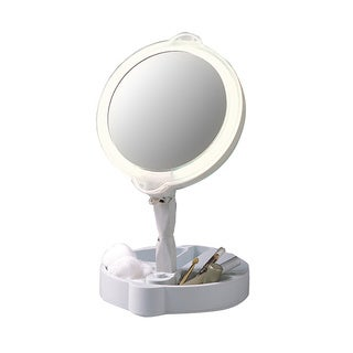 9x Magnification Home and Travel Mate Mirror