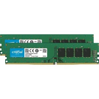 Crucial 16GB Kit (8GBx2) DDR4 PC4-17000 Unbuffered NON-ECC 1.2V