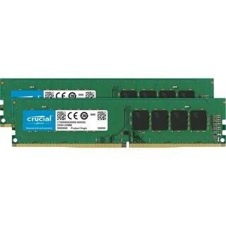 Crucial 16GB Kit (8GBx2) DDR4 PC4-17000 Unbuffered NON-ECC 1.2V