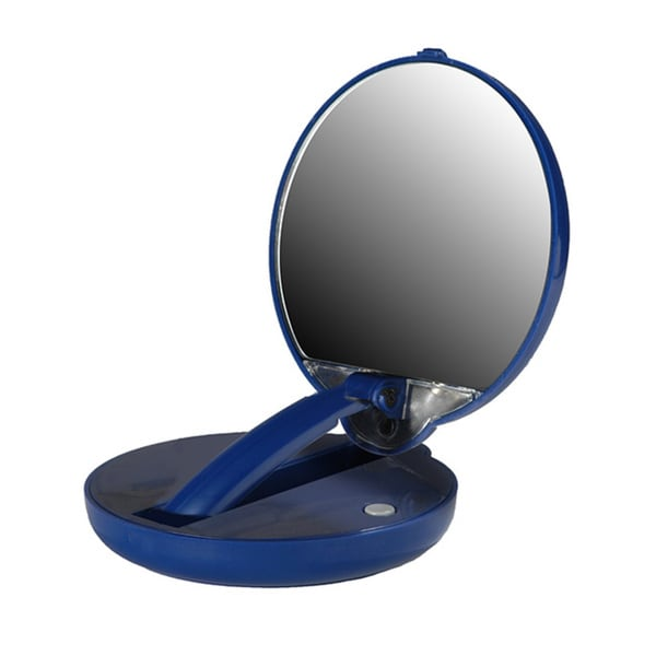 Mirror Mate Adjustable 15x Magnification Mirror with Built-in LED Lights