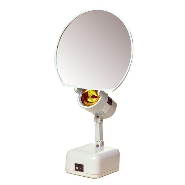 7-inch 8x Illuminated Vanity Mirror