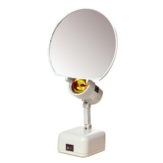 7-inch 8x Illuminated Vanity Mirror