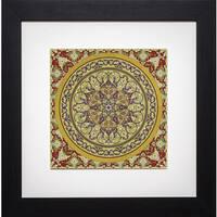 Paula Scaletta 'Bukhara II' Framed Artwork