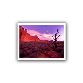Dean Uhlinger 'High Desert Dawn' Unwrapped Canvas