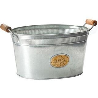 Galvanized Bumblebee Oval Tub|https://ak1.ostkcdn.com/images/products/9354167/P16546791.jpg?_ostk_perf_=percv&impolicy=medium