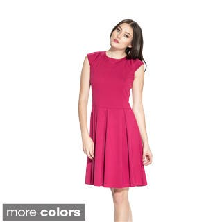 Amelia Women's Cap Sleeve Fit-and-Flare Dress|https://ak1.ostkcdn.com/images/products/9354178/P16546914.jpg?impolicy=medium