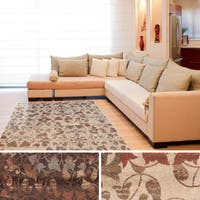 Meticulously Woven Macon Floral Area