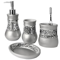 Shop Luxury Bath Accessory Collection Set or Separates - On Sale ...