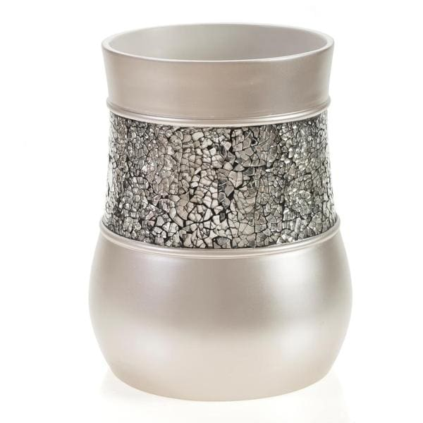 Shop Brushed Nickel Wastebasket Free Shipping Today