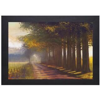 Amanda Houston 'Sunset Highway' Framed Artwork