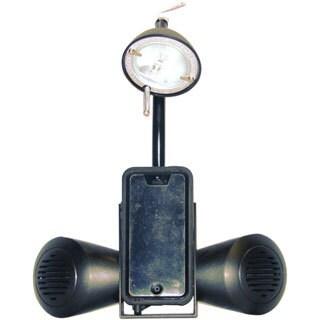 Crown Lighting 1-light Black Media Desk Lamp