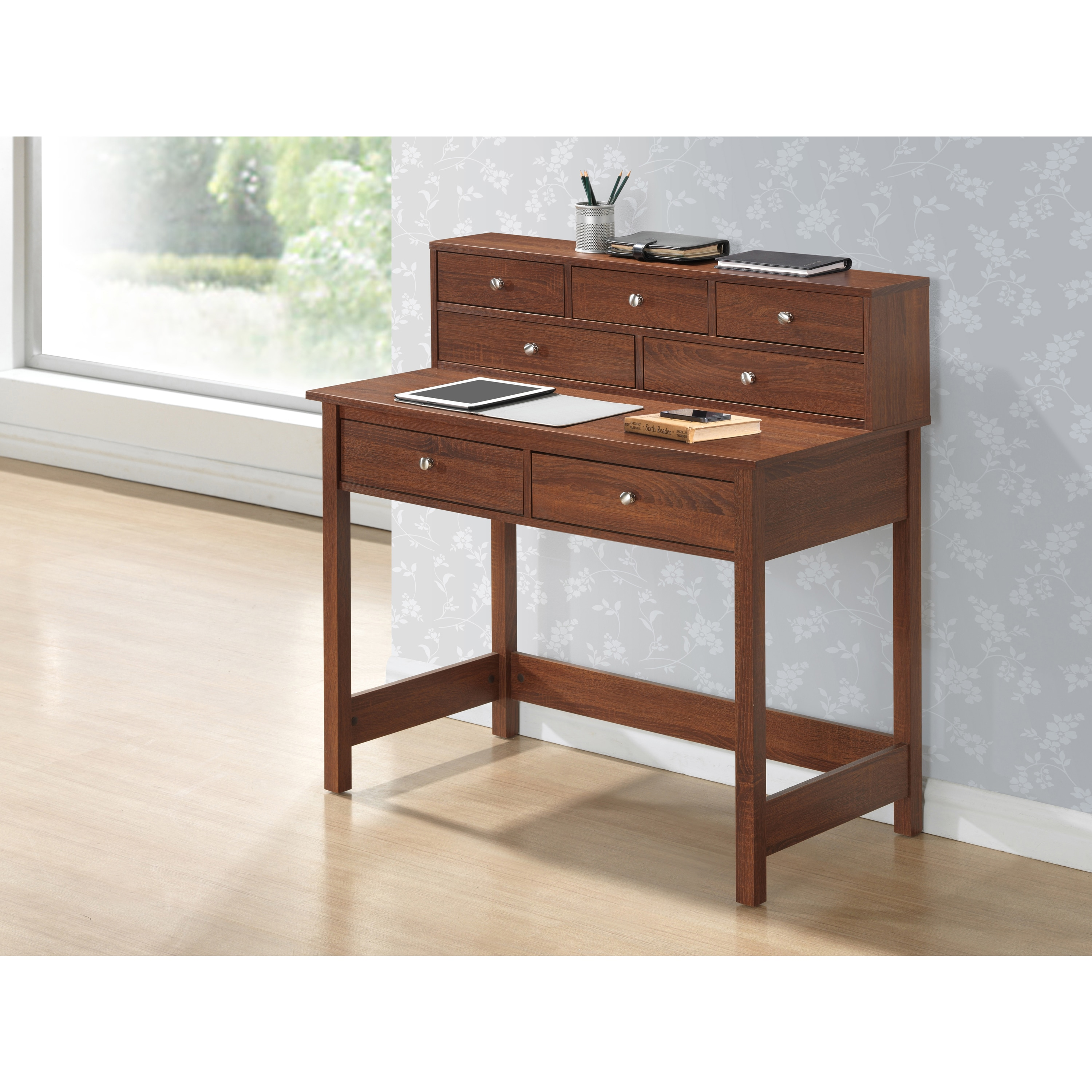 Enterprises Modern Designs Home Office Writing Desk with ...