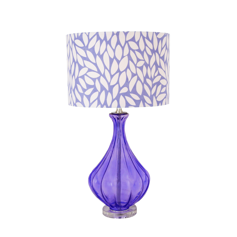 EC World Casa Cortes Purple Rain Glass Acrylic Accent Tab...