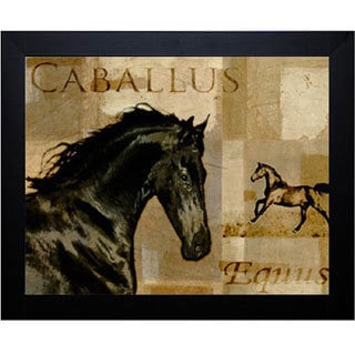 Mark Chandon 'Caballus I' Framed Artwork
