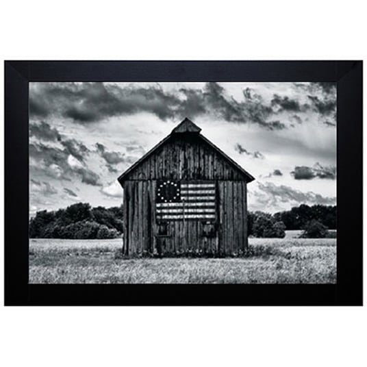 Shop Martin Smith \'Country Barn\' Framed Artwork - Red - On Sale ...