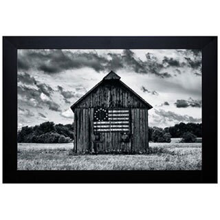 Martin Smith 'Country Barn' Framed Artwork