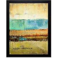 Patricia Pinto 'Rain I' Framed Artwork