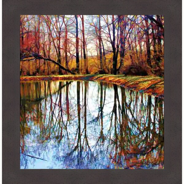 Framed Artwork - Autumn Mosaic - Carl Gethmann