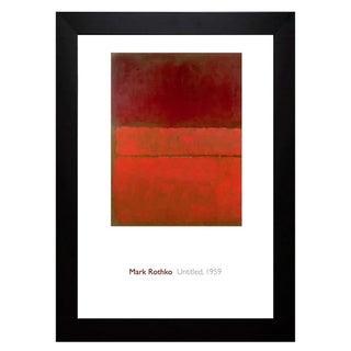 Mark Rothko 'Untitled, 1959' Framed Art