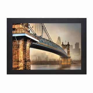 Jason Bohrer 'Foggy Roebling' Framed Artwork