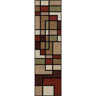 Carolina Weavers Bermuda Collection Pier Multicolored Runner Rug (2'3 x 8')