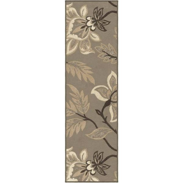 Carolina Weavers Finesse Collection Floweret Grey Runner