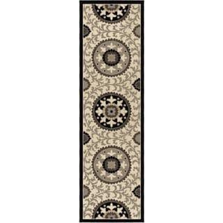 Da Vinci Meridan Taupe Rug (2'3 x 8')