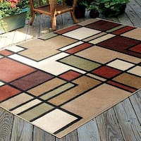 "Carolina Weavers Bermuda Collection Pier Multi Area Rug (5'2 x 7'6) - 5'2"" x 7'6"""